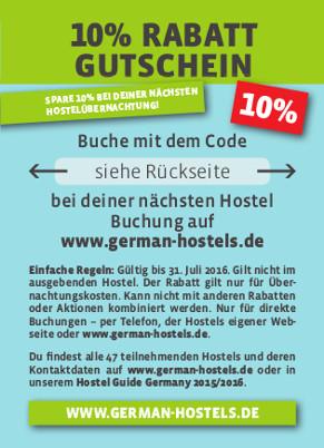 hostels deutschland karte Backpacker Network: die besten Hostels in Deutschland